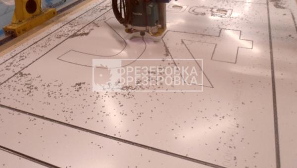 фрезеровка композитных панелей в москве